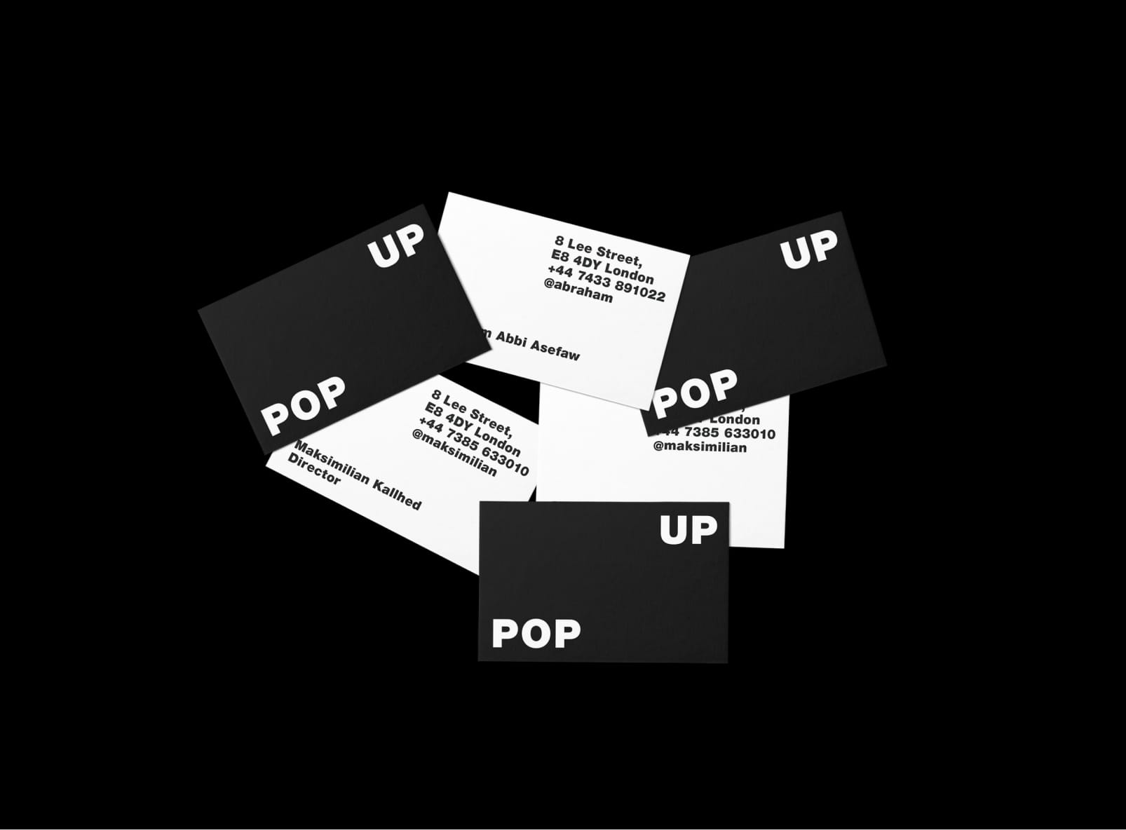 Pop-up-Business-cards